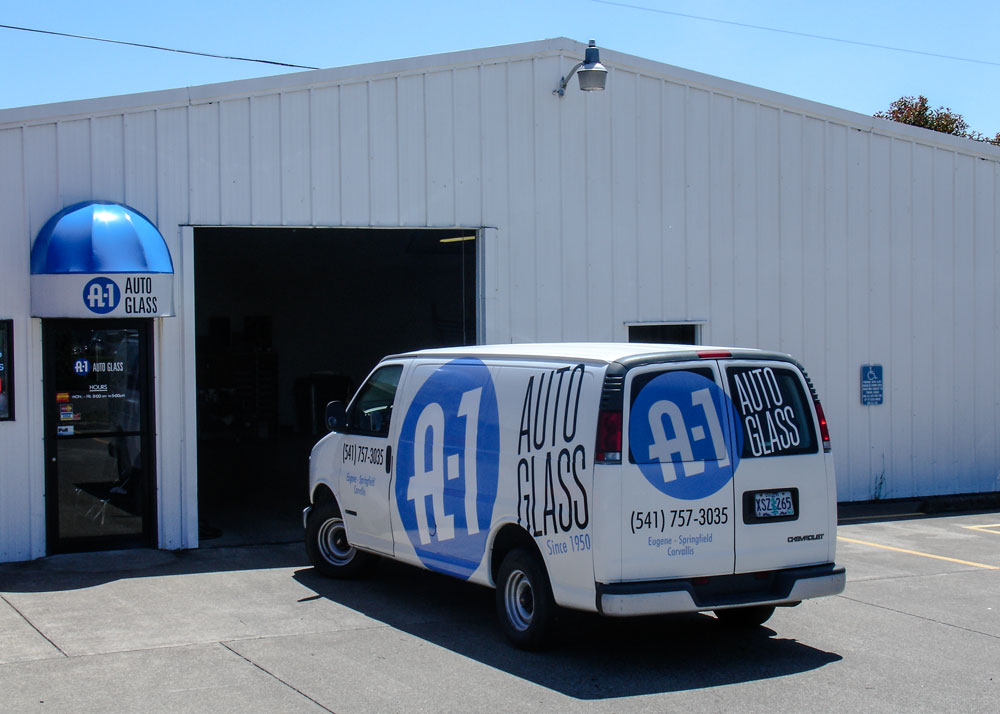 Exterior view of A-1 Corvallis shop.