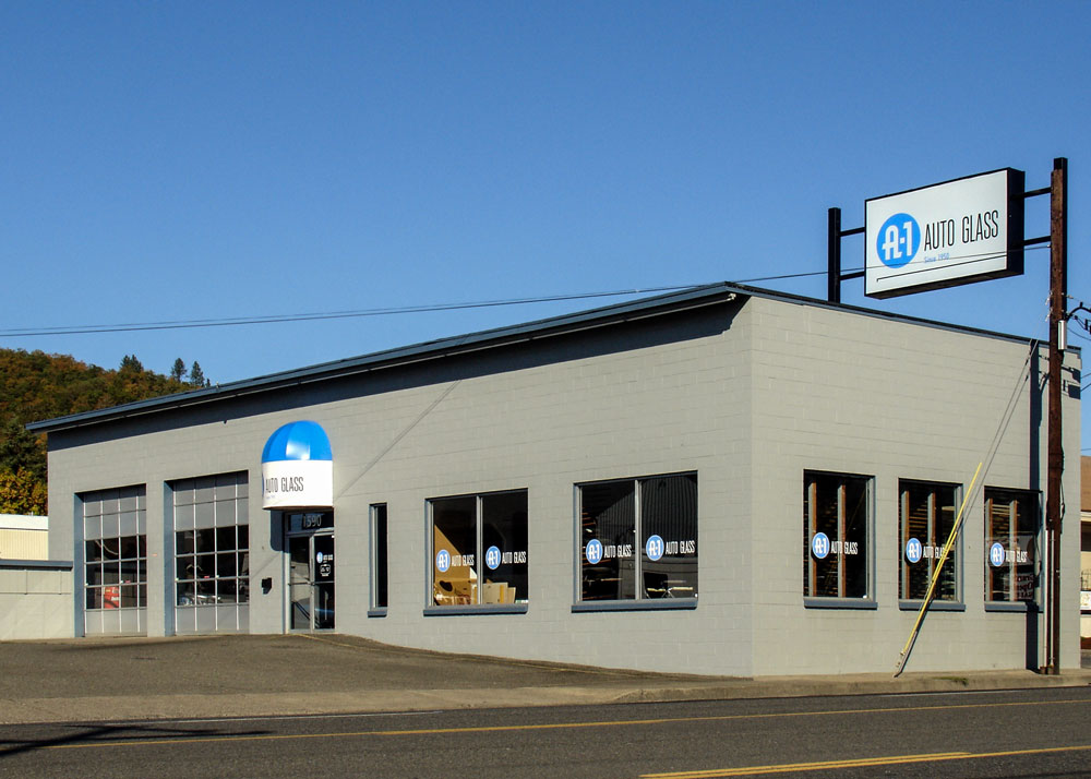 Exterior view of A-1 Roseburg shop.