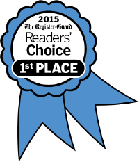 2015 The Register-Guard Reader's Choice 1st Place