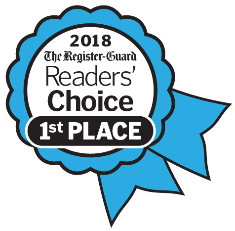 2018 The Register-Guard Reader's Choice 1st Place