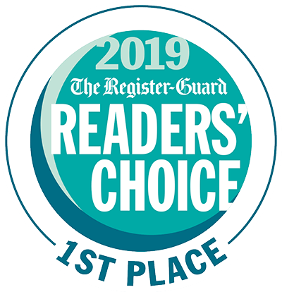 2019 The Register-Guard Reader's Choice 1st Place